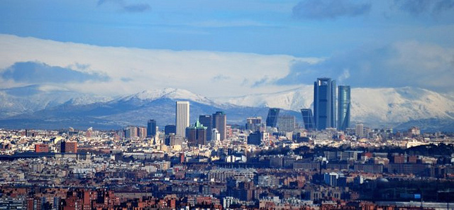 Madrid-skylin