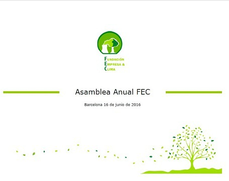 Fundación Empresa y Clima 2016