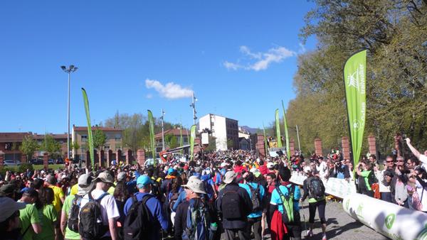 PBS consigue su reto y finaliza con éxito la carrera solidaria Intermón Oxfam Trailwalker 2013