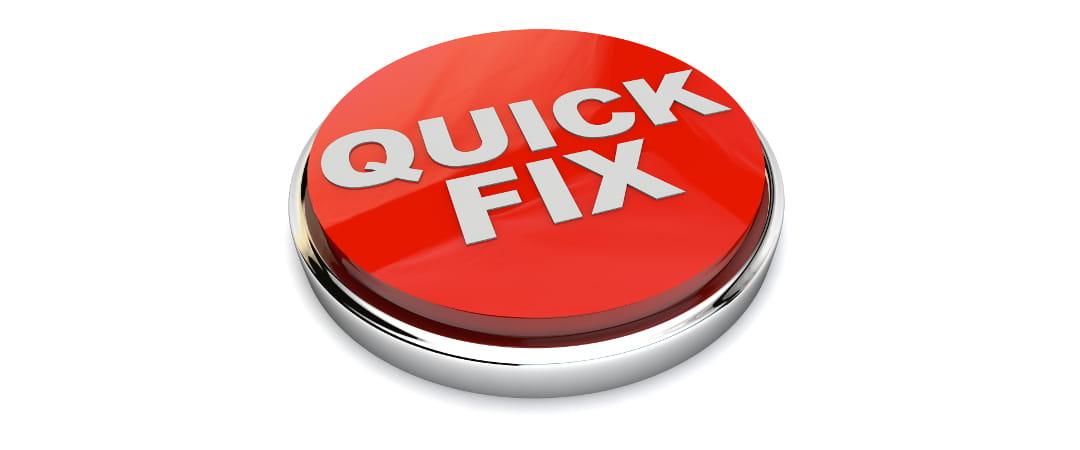 """""""Quick Fixes"""": Soluciones a corto plazo en el IVA"""